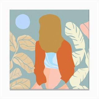 Moonbeam 2 Canvas Print