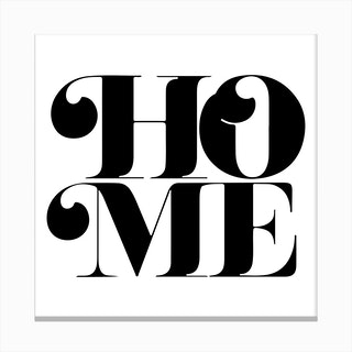 Home III Canvas Print