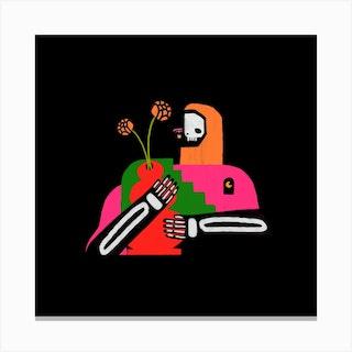 El Muerto Canvas Print