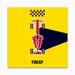 Racer Four Canvas Print