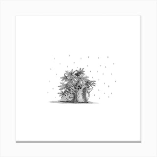 Sheltering Canvas Print