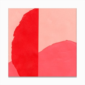Colores III Red Canvas Print
