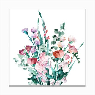 Spring Bouquet Canvas Print
