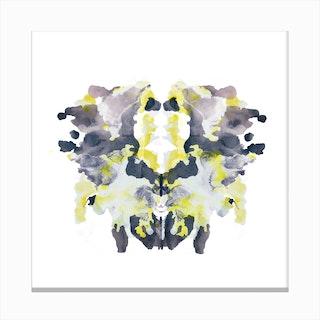 Rorschach 10 Canvas Print