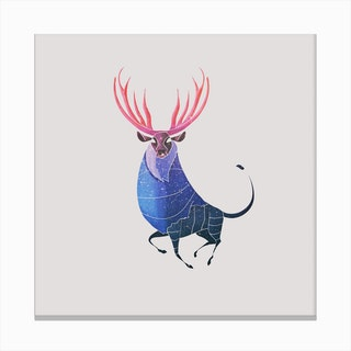 Stag  I Canvas Print