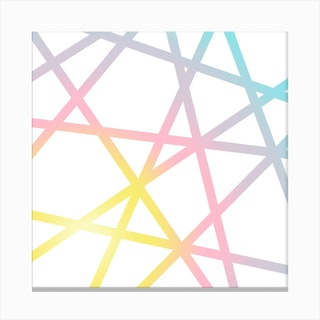 Unicorn X Rainbow Canvas Print