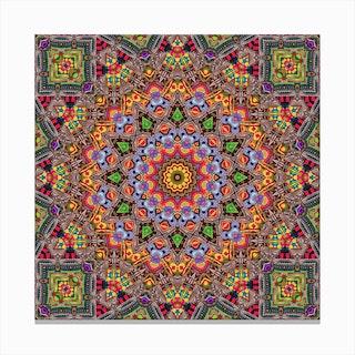 Cherga Mandala II Canvas Print