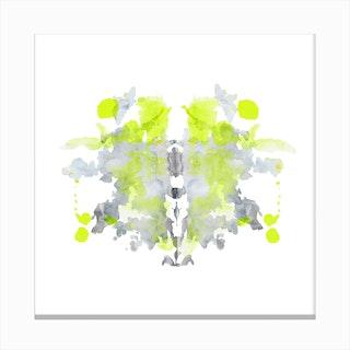Rorschach 18 Canvas Print