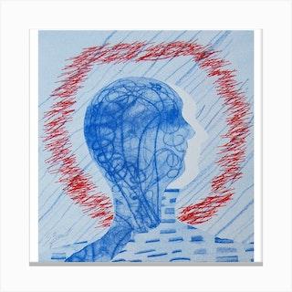 Head Space Canvas Print