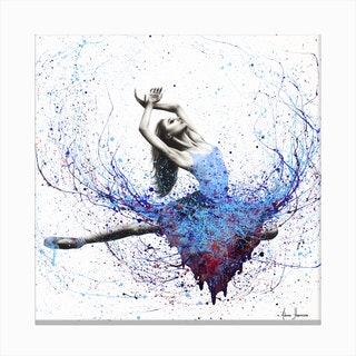 Pianissimo Dance Canvas Print
