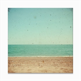 Beach Vintage Canvas Print