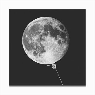 Moonballoon Canvas Print
