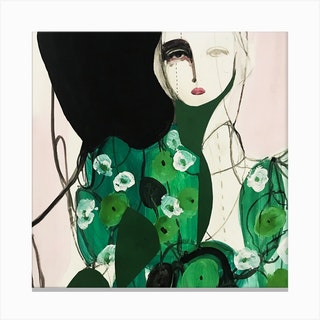 Green Spring 2 Canvas Print