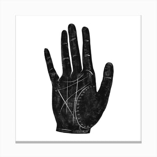 Fortune Hand 2 Canvas Print
