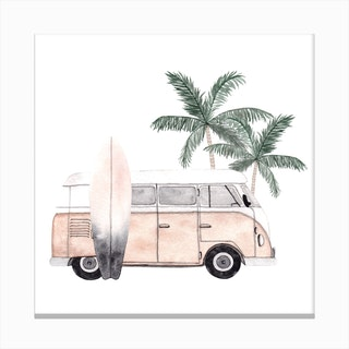 Vacation Mode2 Canvas Print