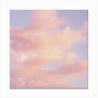 Clouds Square Canvas Print