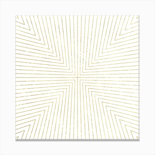 Converge Four Square Canvas Print