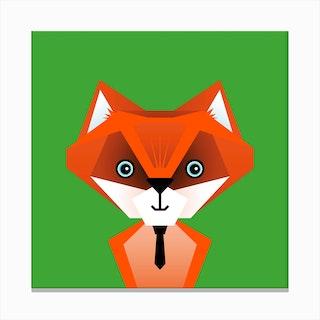 Kids Room Fox Canvas Print