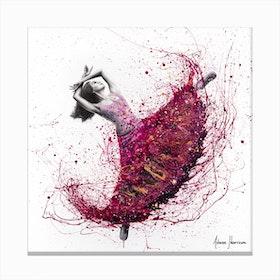 Magenta Night Dance Canvas Print