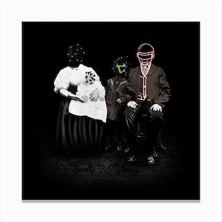Daft Family Canvas Print