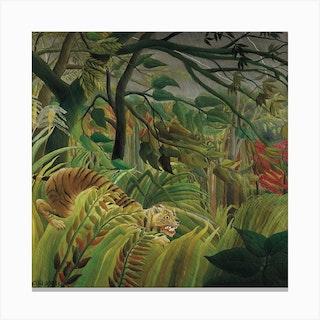 Surprised, Henri Rousseau Canvas Print