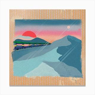 Dystopian Desert Canvas Print