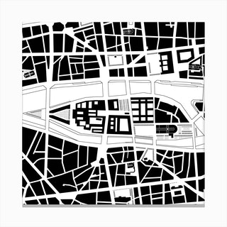 City Island Paris Canvas Print