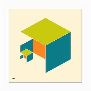 Cubes 1 Canvas Print