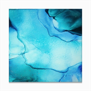 Blue Lagoon Canvas Print