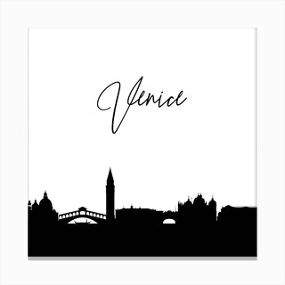 Venice Skyline Canvas Print