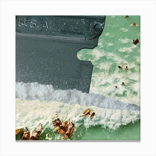 Cocaine Is A Hell Of A Drug Canvas Print
