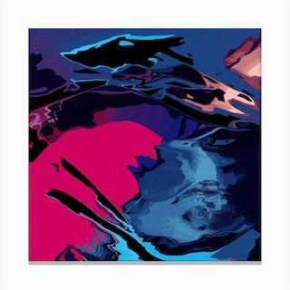 Vibrant Storm Canvas Print