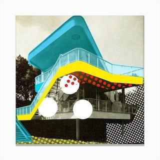Bau Haus 4 Canvas Print