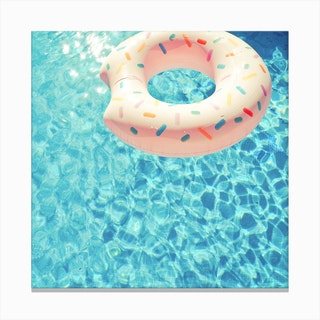 Swimming Pool Vii Canvas Print