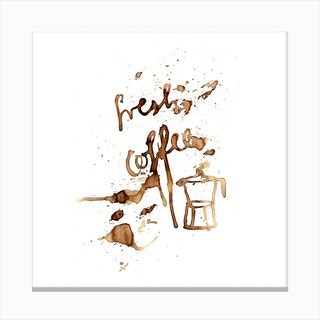 Fresh Coffee 2 Canvas Print