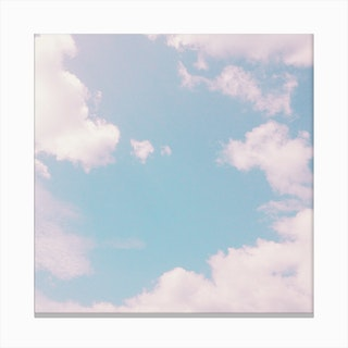 Every Cloud Has A Pink Lining Canvas Print