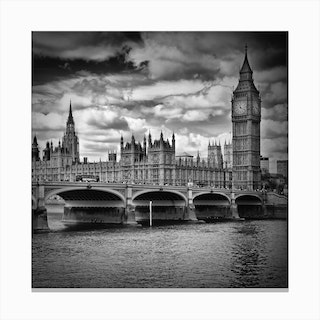 London Westminster Square Canvas Print