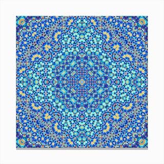 Abstract Mandala IV Canvas Print
