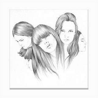 Hairs Canvas Print