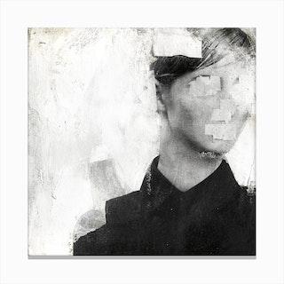 Faceless 01 Canvas Print