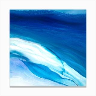 Teal Reef Canvas Print