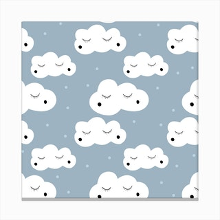 Little Clouds Canvas Print