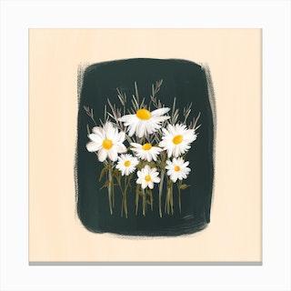 Elenas Daisies Canvas Print