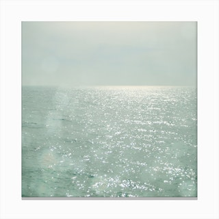 The Silver Sea Canvas Print