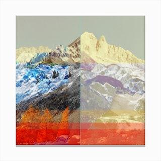 MountainMix10 Canvas Print