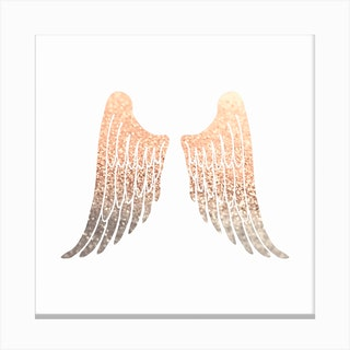 Gold Wings Canvas Print