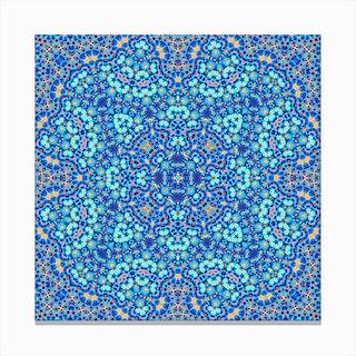 Abstract Mandala III Canvas Print