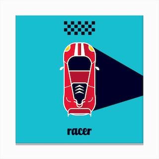 Racer Six Canvas Print
