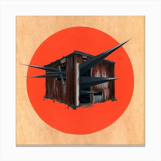 Shed 3 Canvas Print