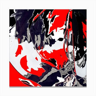 When things get Graphic Canvas Print